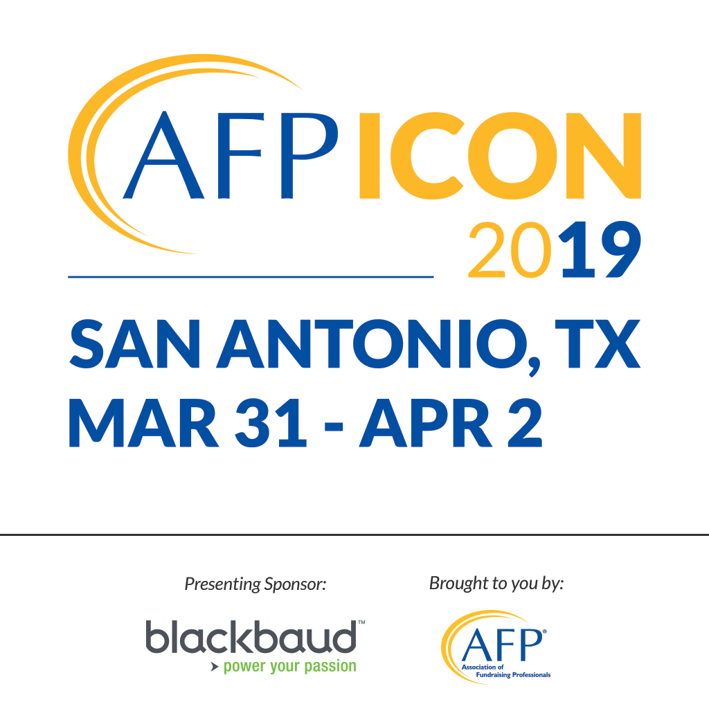 The AFP ICON 2019 App Is Here! | Association of Fundraising