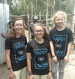 Isabelle, Katherine and Trinity Adams—sisters from Dallas, Texas, aged 14, 12 and 8, respectively, and who have raised more than $1.5 million to provide clean water to children in developing countries—have been named the 2018 CARTER Outstanding Youth in Philanthropy, Group, by the Association of Fundraising Professionals (AFP).