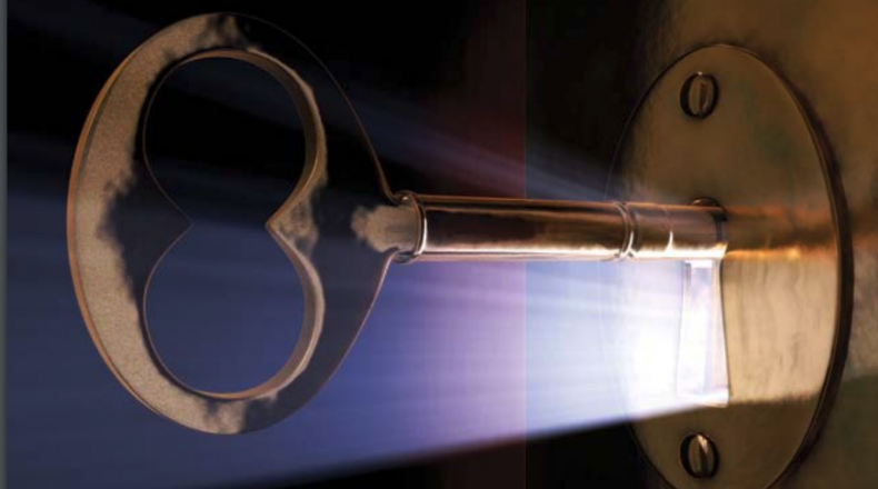 key in a lock and cover image for the capacity report