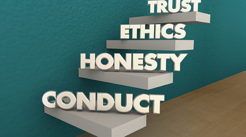 trust ethics honesty conduct