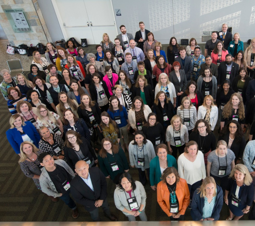 Group photo of attendees at AFP conference
