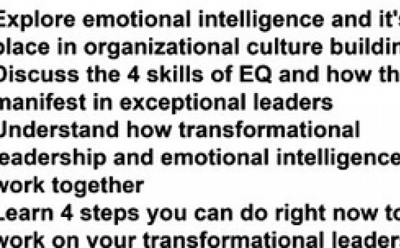numbered bullet points with text regarding leadership