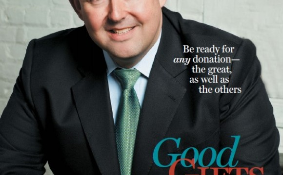 Cover image for the May/June 2011 issue of Advancing Philanthropy magazine