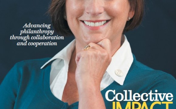 Cover image for the November/December 2012 issue of Advancing Philanthropy magazine