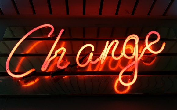 change sign in neon