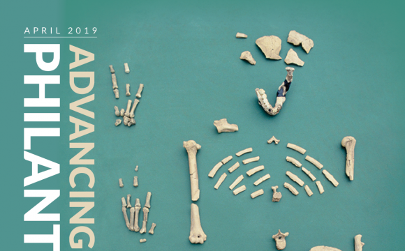 Advancing Philanthropy April 2019 cover