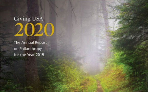 Cover of Giving USA 2020 Report